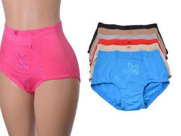 Womens underwear with zipper pocket