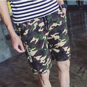 Zip Pocket Mens Short